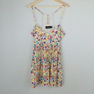 MINKPINK floral print sleeveless dress Size Small